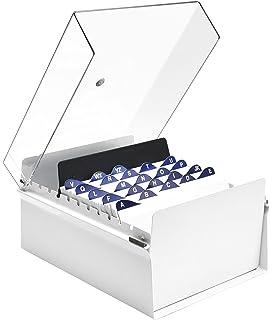 Brunnen Twinboxx Styrolux - Archivador de tarjetas (A8 ...