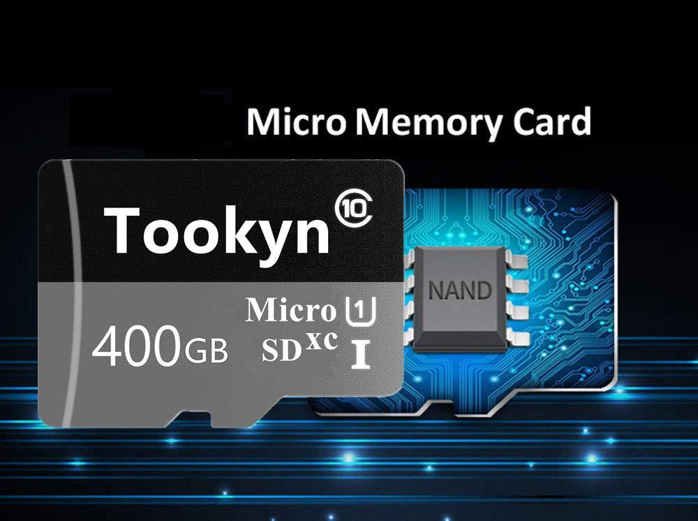 Tookyn TF70-V3D - Tarjeta Micro SD (400 GB, Clase 10 ...