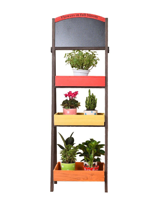 Massivholz Blumenregal Balkon Blumentopf Drei Schicht Regal Wohnzimmer  Pflanze Regale Indoor Wood Flower Rack Online Kaufen