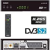 Edision Piccol Lino DVB-S2Full HD Ricevitore satellitare H.265/HEVC lettore di schede USB Nero