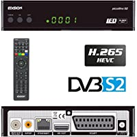 Edision piccol Lino DVB-S2Full HD Receptor de Satélite H.265/hevc Tarjeta Lector USB Negro