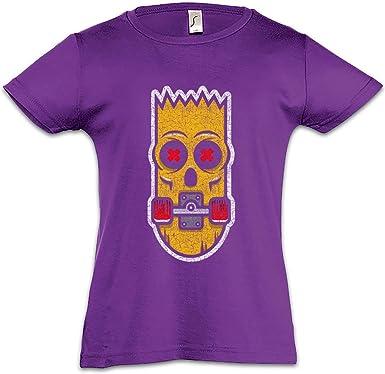 Urban Backwoods Bart Skate Camiseta para Niñas Chicas niños T ...