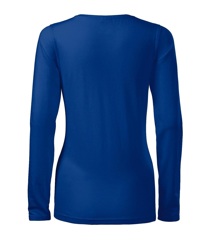 Damenshirt Langarmshirt Shirt Slim von Adler - Größe und Farbe wählbar -:  Amazon.de: Bekleidung
