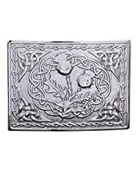 MEN'S SCOTTISH KILT BELT BUCKLES CHROME BUCKLES 5000-29