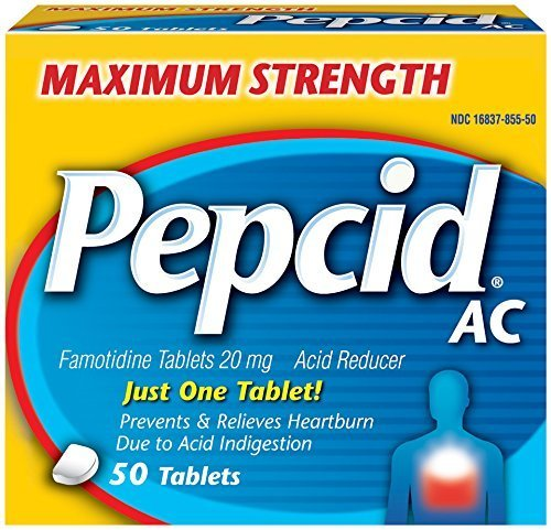Pepcid Maximum Strength Reducer Tablets
