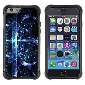 Suave TPU GEL Carcasa Funda Silicona Blando Estuche Caso de protección (para) Apple Iphone 6 PLUS 5.5 / CECELL Phone case / / Abstract Space Splash /