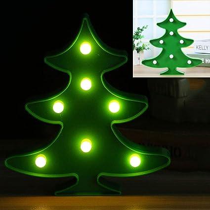 Adornos para árboles de Navidad LED Mesa de Modelado Luces Decoración de Navidad para el hogar: Amazon.es: Coche y moto