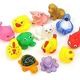 Animal Bath Toys (Assortment of 13 toys)