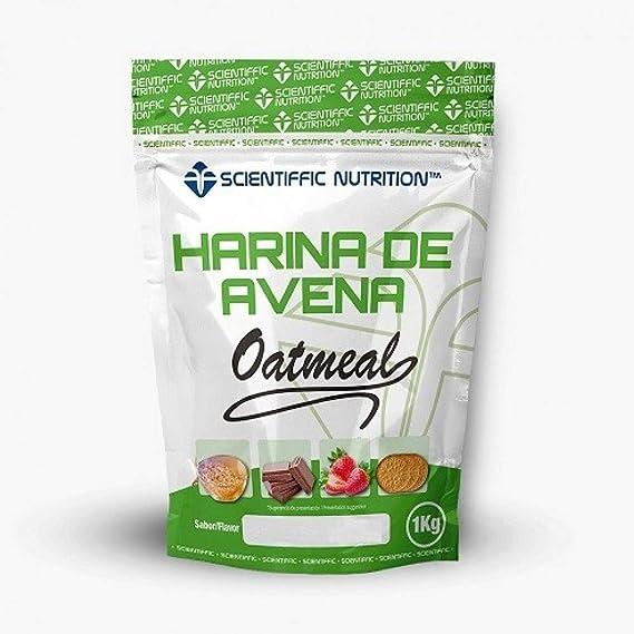 Harina De Avena 1 Kg - Scientiffic Nutrition, NEUTRO SIN SABOR ...