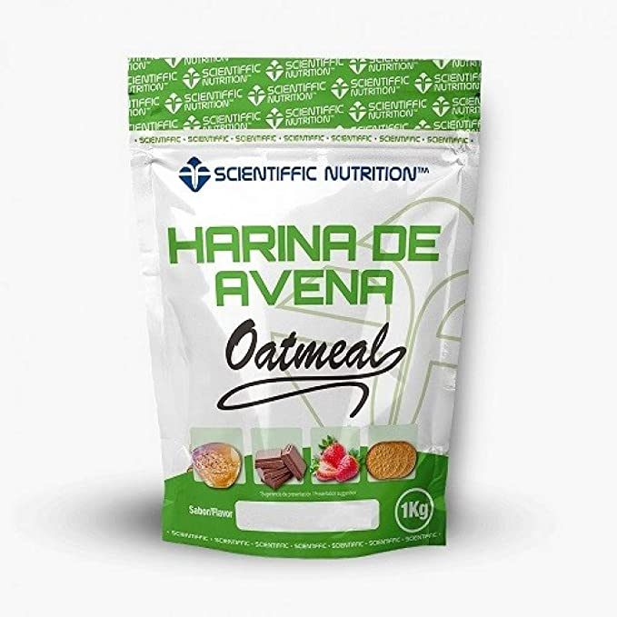 Harina De Avena 1 Kg - Scientiffic Nutrition, NEUTRO SIN SABOR ...