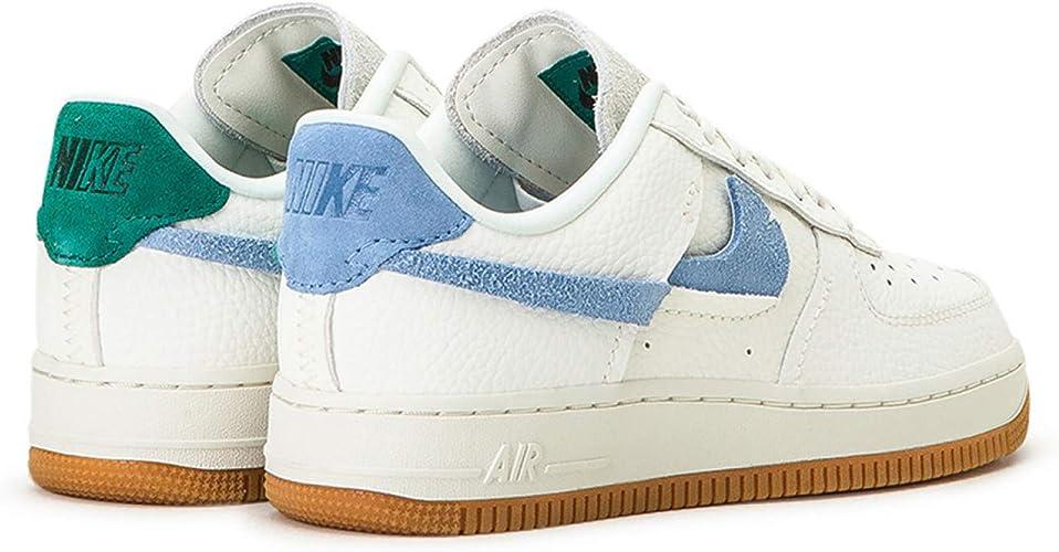 Nike Air Force 1 '07 LXX Sneakers Bianco Verde BV0740 100 (38.5 Bianco)