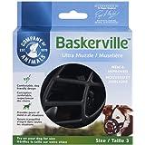 The Company Of Animals Baskerville Ultra Dog Muzzle, Size 3, Black (61320A)