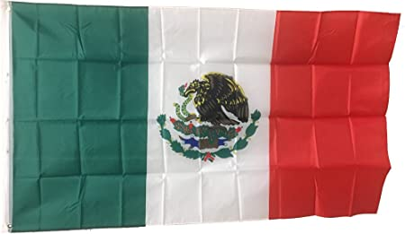 New 3'x5' Polyester Mexico Flag  Mexican Country Indoor Outdoor Banner