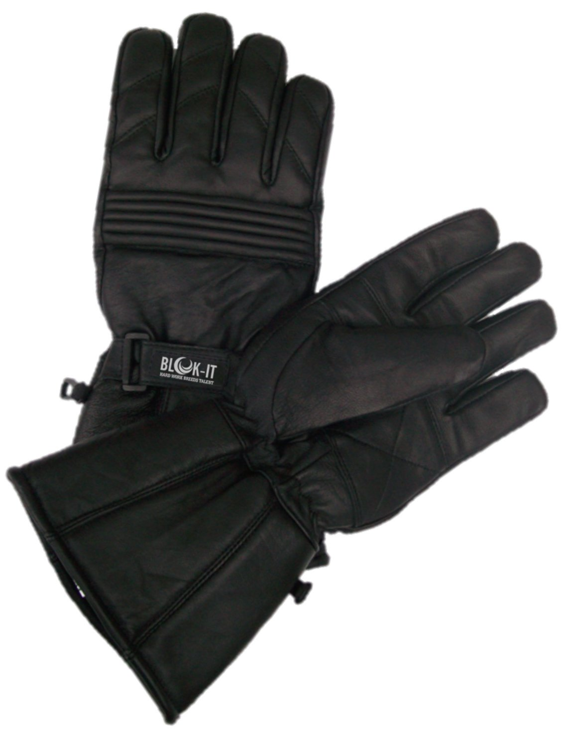 Motorcycle gloves cruiser - The Blok It Motorcycle Gloves Are A Great Pair Of Full Coverage Gloves That Is Designed From All Leather Material This Thick Material Is Perfect For