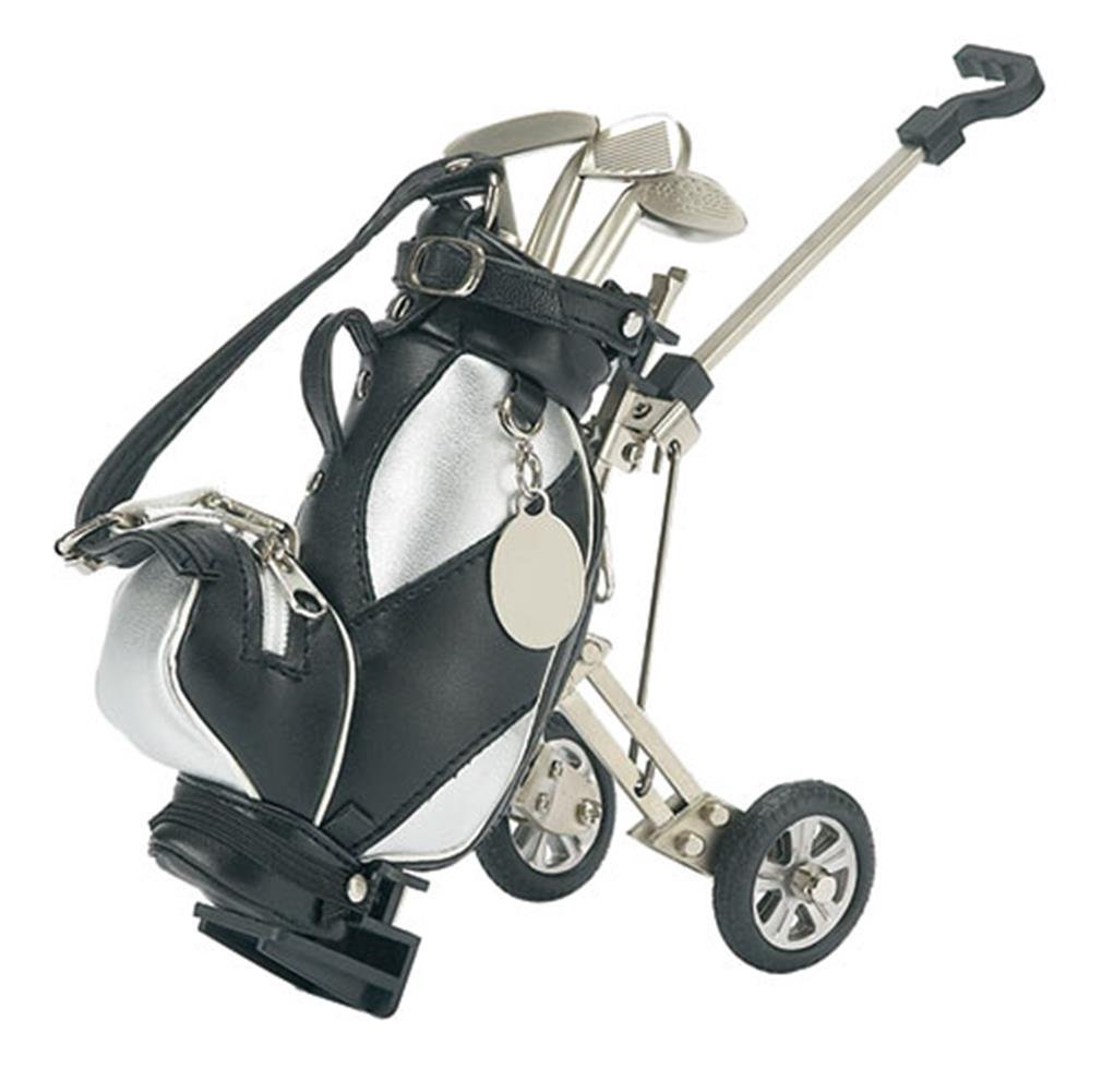 Golf Pens with Golf Bag Holder, 4-Piece Set by HomeWetBar (Image #1)