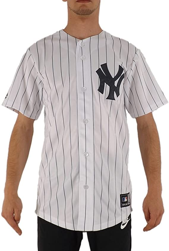Majestic MLB New York Yankees Jerseey Blanco XS (X-Small): Amazon.es: Ropa y accesorios
