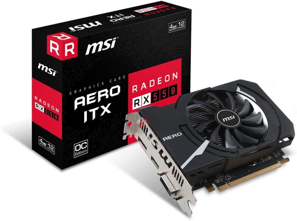 MSI Gaming Radeon RX 570 256-bit 8GB GDRR5 DirectX 12 VR Ready CFX Graphcis Card RX 570 ARMOR MK2 8G OC