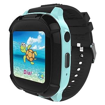 Reloj inteligente para niños, 1.44 pulg. Reloj impermeable ...