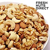 Additive-free unsalted mixed nuts 1kg (walnuts, cashews, almonds) chuck bag containing