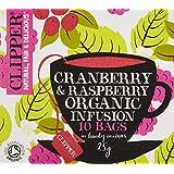 Clipper Teas - Organic Cranberry & Raspberry Tea - 10 Bags