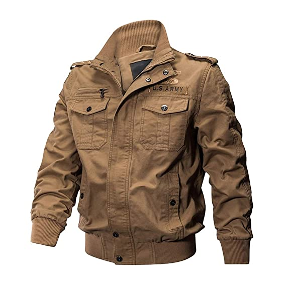 Manches Outdoor Militaire Homme Style Longues Blouson Classic Cargo mv0N8nw