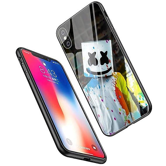 07ffae6b42 LiangChu 9H Tempered Glass iPhone 6/6s Cases, LC-174 Marshmello DJ Design
