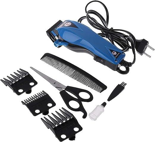 Anjuley - Máquina de Corte de Pelo de afeitadora eléctrica para Hombre: Amazon.es: Hogar