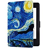 Huasiru Painting Case for Kindle Paperwhite, Starry Sky - fits all Paperwhite generations prior to 2018 (Will not fit All-new Paperwhite 10th generation)