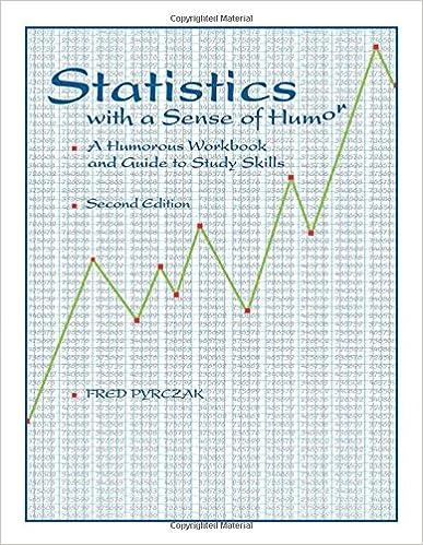 Amazon.com: Statistics with a Sense of Humor: A Humorous Workbook ...