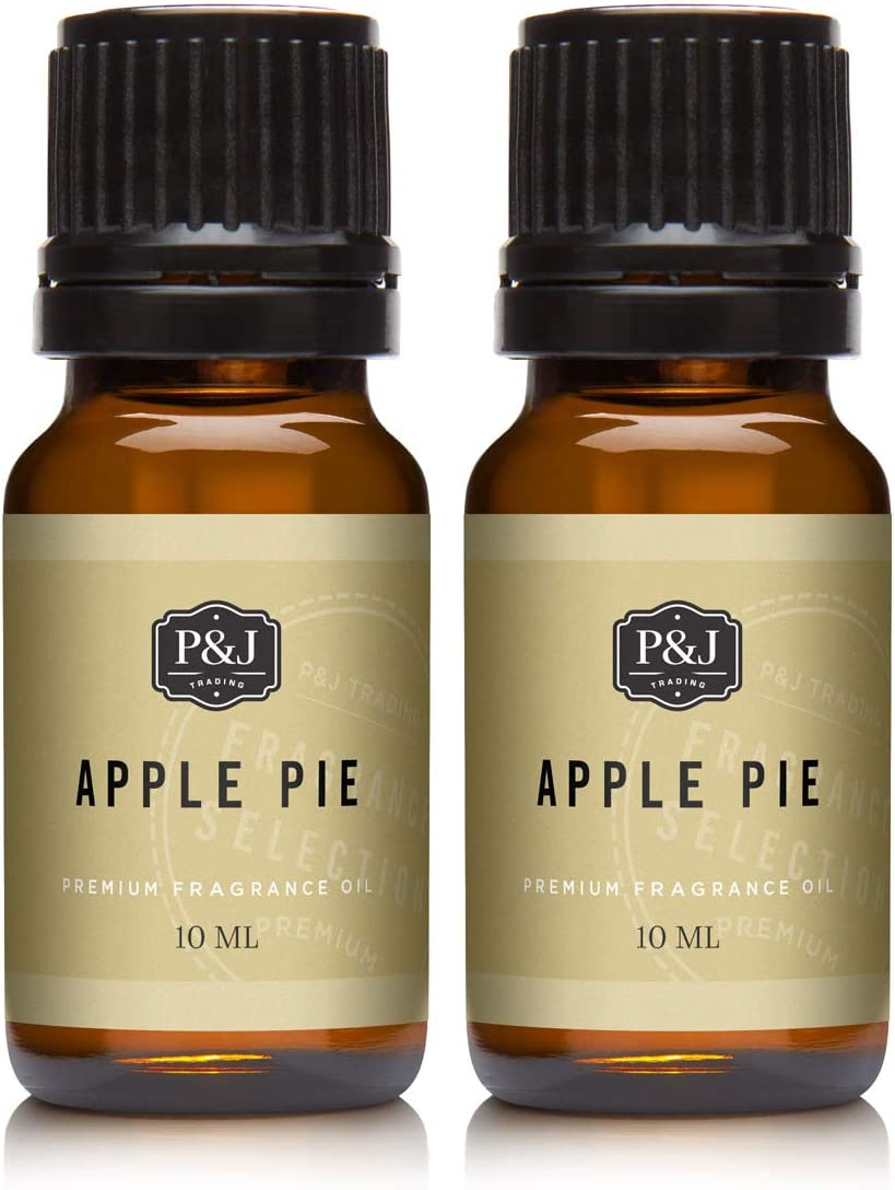 Apple Pie Fragrance Oil - Premium Grade Scented Oil - 10ml - 2-Pack