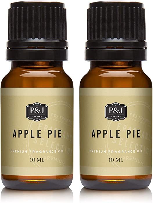 Apple Pie Fragrance Oil - Premium Grade Scented Oil - 10ml - 2-Pack