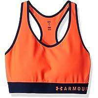 Under Armour Armour Mid Keyhole Bra - Sujetador Deportivo Mujer