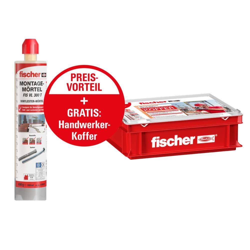 Fischer FIS VL 300 T 548655 Craftsman Case Grey/Red