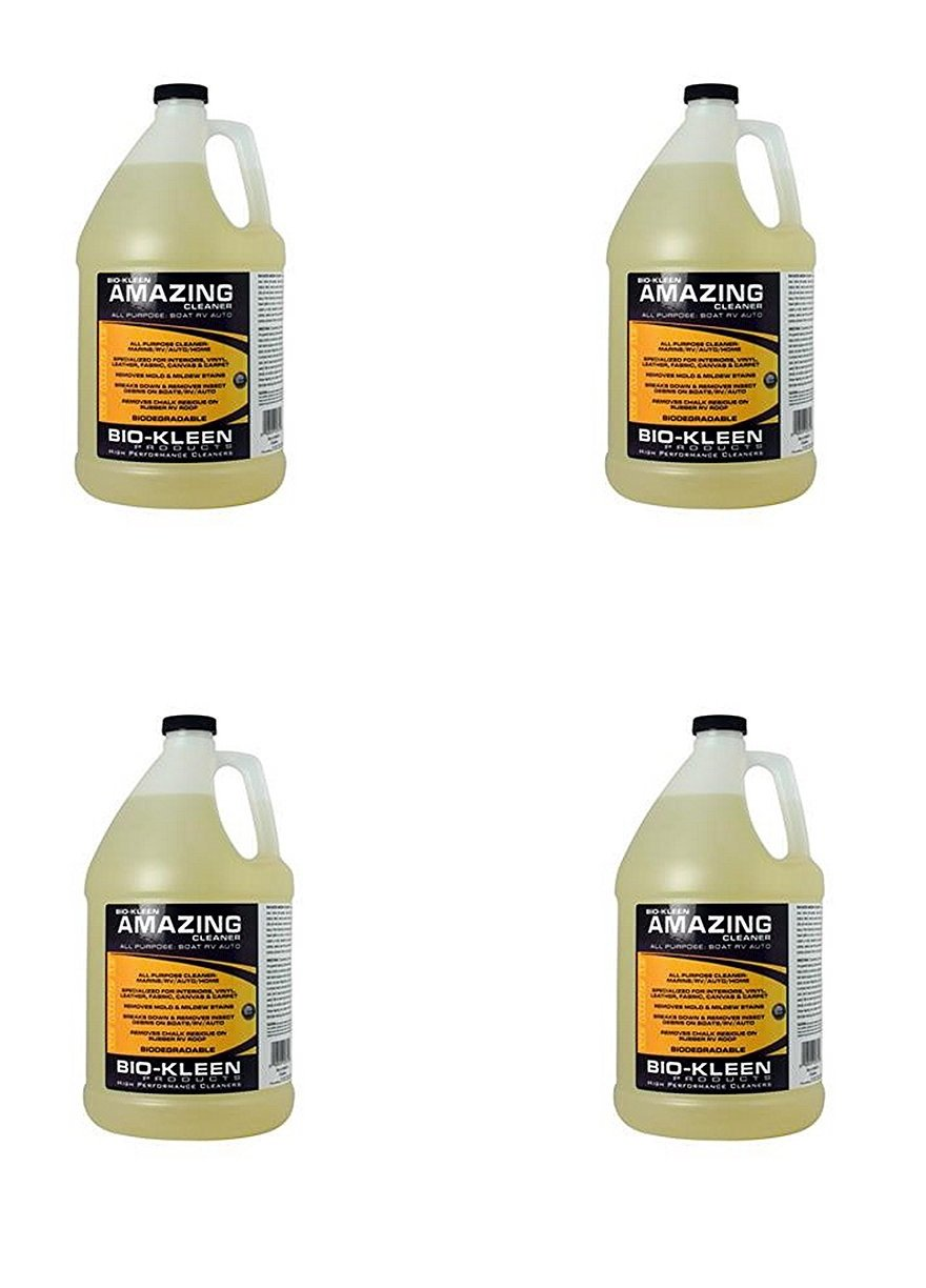 Bio-Kleen M00309 RV Trailer Camper Cleaners Amazing Cleaner 1 Gallon (4)