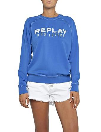 5a86739621 Replay Sweat-Shirt Femme: Amazon.fr: Vêtements et accessoires