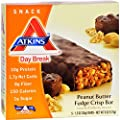 Atkins Day Break Bar Peanut Butter Fudge Crisp - 5 Bars