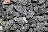 "Fire Pit Essentials 10-pound 3/4"" Medium Black Lava Rock for Fireplace and Fire Pit offers"