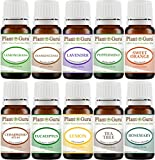 Food Allergy On Baby Skin - Essential Oil Set 10-10 ml. Therapeutic Grade 100% Pure Cedarwood, Eucalyptus, Frankincense, Lavender, Lemon, Lemongrass, Sweet Orange, Peppermint, Rosemary, Tea Tree For Skin, Body, Hair, Diffuser