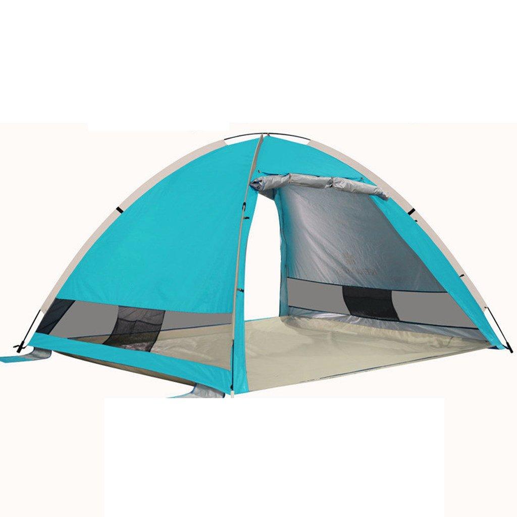 Z-Peng Bu テントアウトドアキャンプテント防風自動ポップアップサンシェードテント防水日焼け止めテントオープン釣り海岸テントを流した ++ (色 : A)  A B07JJ9VWH3