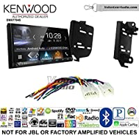 Volunteer Audio Kenwood DMX7704S Double Din Radio Install Kit with Apple CarPlay Android Auto Bluetooth Fits 2011-2015 Scion tC