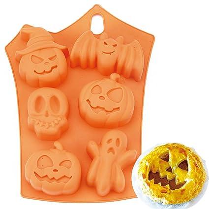 FantasyDay® Stampo in Silicone per Dolci a Forma di Muffa di Halloween 4054043d7884