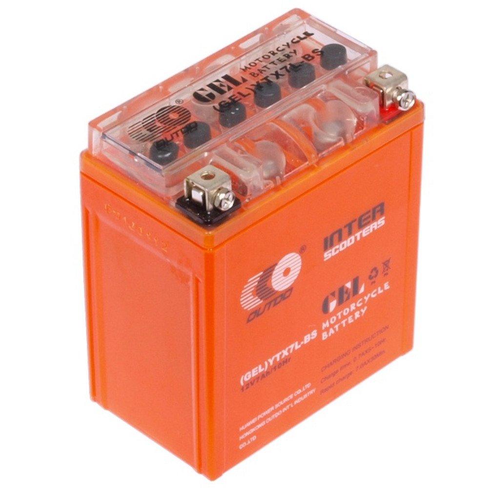 outdo ytx7t-BS Batterie au plomb 12 V 7 Ah BATTERIE au plomb Gel Batteries Batterie sans entretien é tanche