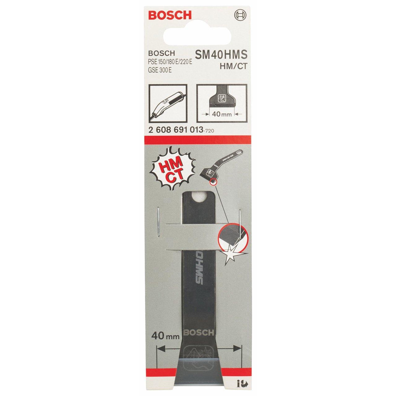 Bosch 2608691013 Grattoir pour joints SD 40 HM 40 mm Bosch Professional