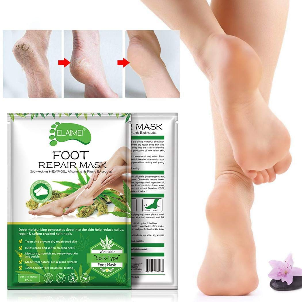 Bluefringe Exfoliant Foot Peel Mask for Soft Feet, Exfoliating Booties for Peeling Off Calluses & Dead Skin, Baby Your feet by Bluefringe