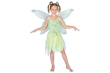Tinker Bell - Disfraz de hada para niña, talla M (EG-3527. M)
