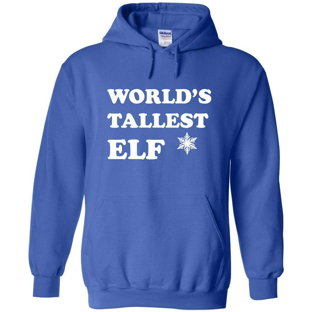 Christmas Holiday Crewneck Sweatshirt World/'s Tallest Elf