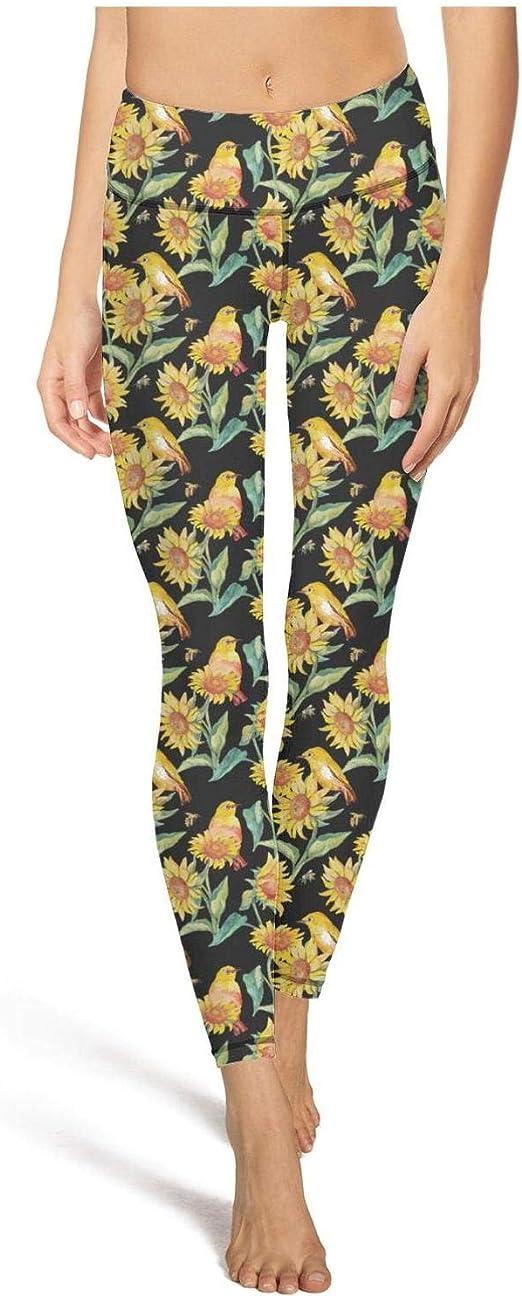 Sunflowers Fleece Leggings Full Length