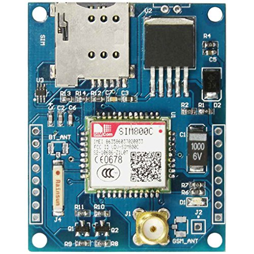 Mairuay 4 Frequency Development Board Module GSM GPRS Module Bluetooth DTMF Quad-Band Antenna Useful Board