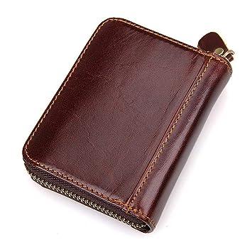 Circlefly Moda Retro cuero órgano cartera multi bit diseño de tarjeta unisex de bolso de la tarjeta: Amazon.es: Hogar