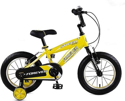 DYFYMXBicicleta niño Bicicleta de Pedal Bicicleta Infantil ...